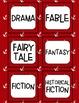 Reading Labels - Book Bin Labels - Classroom Library - NAU