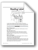 Reading Labels in the Classroom
