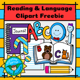 Back-to-School Reading & Language Arts Clipart Freebie (10 pc.)