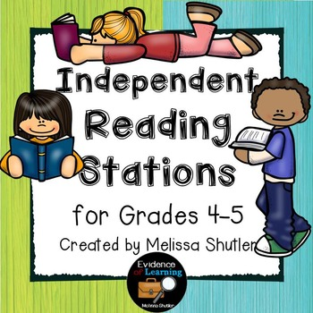Reading Language Arts Stations for Grades 4-5