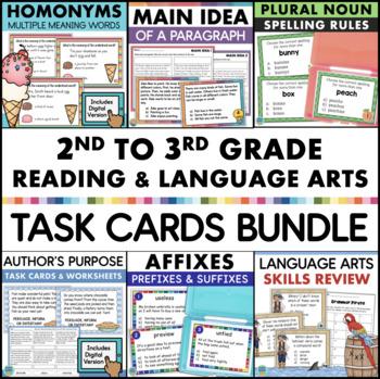 Reading Task Cards Bundle