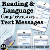Reading & Language Comprehension with Text Messages | Infe