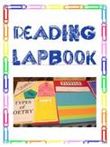 Reading Lapbook Folder Literary Element  Genres STAAR Back