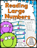 Reading & Writing Numbers Activities: 1,000-10,000,000