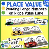 Reading Large Numbers on Place Value Lane