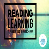 Reading Learning Targets Tracker