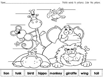 Reading- Learning With Pictures K-1