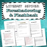Reading Lesson Bundle: Foreshadowing and Flashback