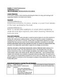 Reading Lesson Theme and Main Idea