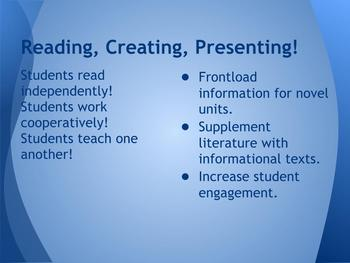 Reading Lesson for Information Text that Allows for Differentation