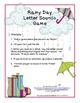 Phonemic Awareness Games for Kindergarten Literacy Centers Letter Sound Games