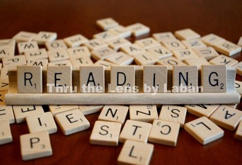 Reading Letter Tiles Stock Photo #185