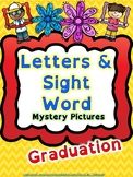 Reading: Letters and Sight Words Graduation Mystery Pictur