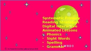 Reading PPT Lessons Gr 1 +:  Phonics: Level 1 Wk 3: CVC short e: ed, using on