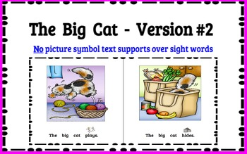 Reading Level A (Reading A-Z Book) Modified Text & Comprehension