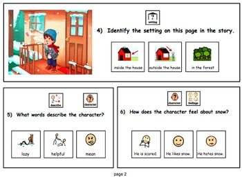 Reading Level B  Modified Text & Comprehension