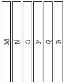 Reading Level Binder Labels M-U