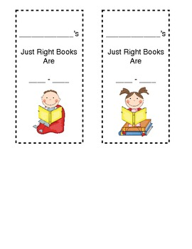 Reading Level Bookmarks for use with Accelerated Reader