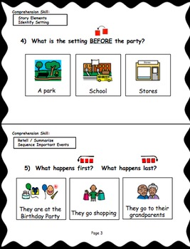 Reading Level C (Reading A-Z Book) Modified Text & Comprehension