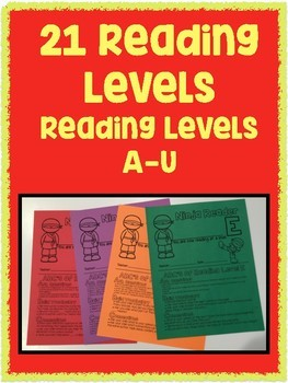 Reading Level Certificates with Parent Letter NINJA THEMED