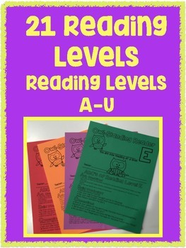 Reading Level Certificates with Parent Letter OWL THEMED