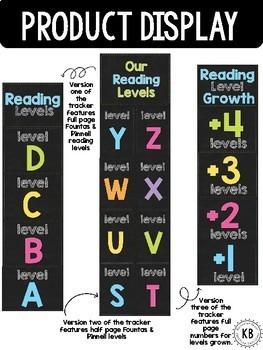 Reading Level Clip Chart