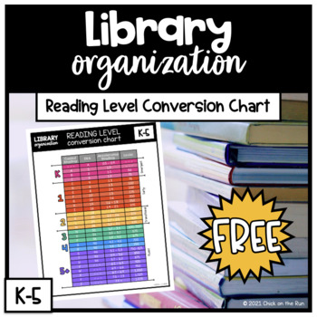 Reading Level Conversion Chart Teaching Resources Teachers Pay