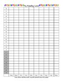 Reading Level Data Chart Scholastic 1st Grade
