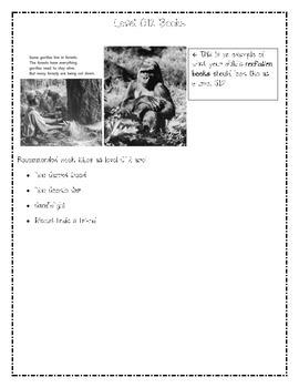 Reading Level Descriptors: G/12