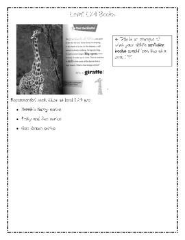 Reading Level Descriptors: L/24