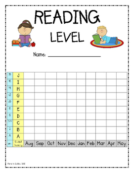 Reading Level Graph {1st Grade}