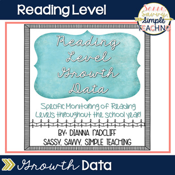 Reading Level Growth Data
