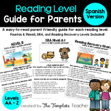 Reading Level Guide: Parent's Handbook for your Child's Le