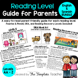 Reading Level Guide for Parent Teacher Conferences - Engli