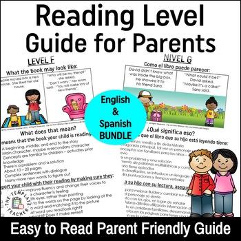 Reading Level Guide:Parent's Handbook for Leveled Books En