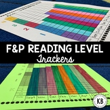 F&P Reading Level Student Data Trackers