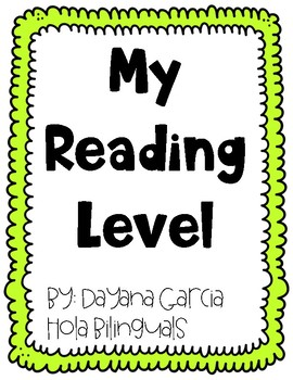 Reading Level- TRACKING LETTERS