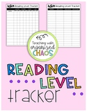 Reading Level Tracker {*Organize Your Data!*}