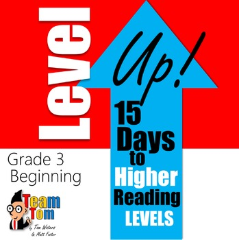 Level UP: Increase Reading Levels in 15 Days (Levels J-N)