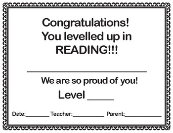 Reading Level-Up Certificate_8.5x11