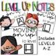 Reading Level Up Notes