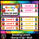 Reading Levels Bump it Up Wall Editable