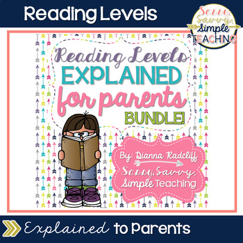 Reading Levels Explained for Parents Bundle [A-Z]