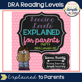 Reading Levels Explained for Parents [DRA Levels 1-30]