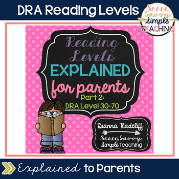 Reading Levels Explained for Parents [DRA Levels 30-70]