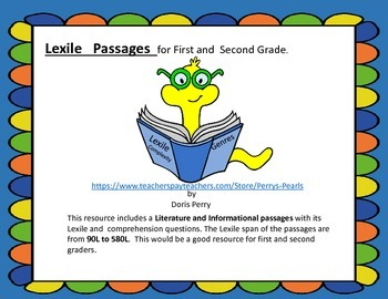 Reading:  Lexiled Passages