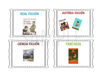 Reading Library Labels in Spanish