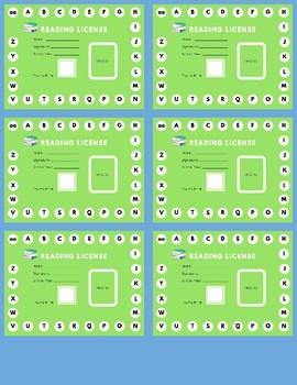 Reading License