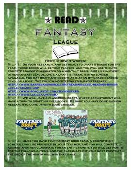 Reading *Like Fantasy Football League*