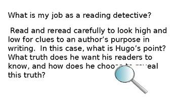 Reading Like a Detective:  Les Miserables
